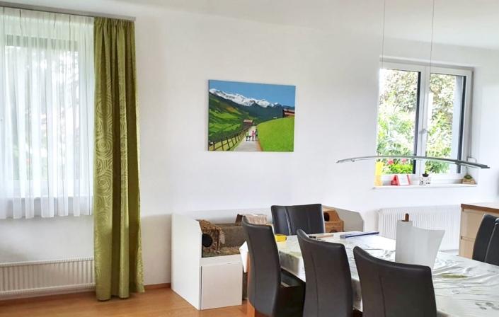 Interieur painting color Art Kögl